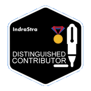 "The bearer of this ""Distinguished Contributor"" badge has demonstrated the highest possible standards and ethics of academic research and publishing with IndraStra Global."